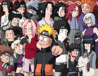 Naruto y los Simpsons